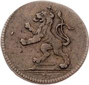 ½ Pfennig - Heinrich XI. – avers