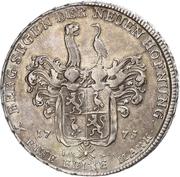 1 Thaler - Heinrich XI. (Ausbeute) – revers
