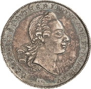 1 Thaler - Heinrich XI. – avers