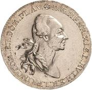 ½ Thaler - Heinrich XI. – avers