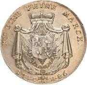 ½ Thaler - Heinrich XI. – revers