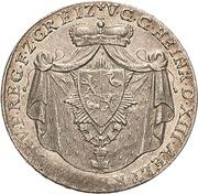 ⅙ Thaler - Heinrich XIII. -  avers