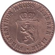 1 Pfennig - Heinrich XXII – avers