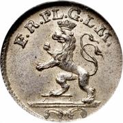 3 Pfennig - Heinrich XI – avers