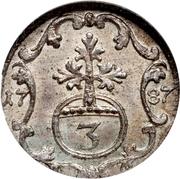 3 Pfennig - Heinrich XI – revers