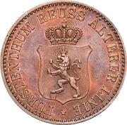 3 Pfennige - Heinrich XXII – avers