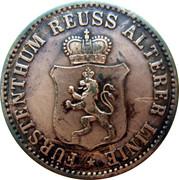 3 Pfennige - Heinrich XXII (Alterer Linie) – avers