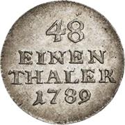 1/48 Thaler - Heinrich XI – revers