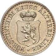 1 Silbergroschen - Heinrich XXII – avers