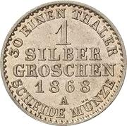 1 Silbergroschen - Heinrich XXII – revers