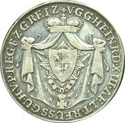 ⅓ Thaler - Heinrich XIII – avers