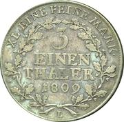 ⅓ Thaler - Heinrich XIII – revers