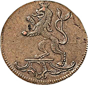 2 pfennig Heinrich XI – avers