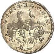 1/24 thaler Heinrich XI – avers