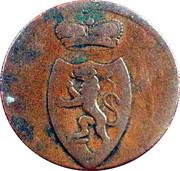 3 pfennig Heinrich XIII – avers