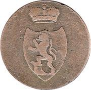 3 Pfennig - Heinrich XIX – avers