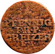 1 pfennig Heinrich XI – revers