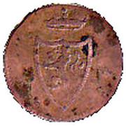 1 pfennig Heinrich XIII – avers
