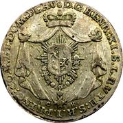 1/12 thaler Heinrich XI -  avers