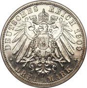 3 Mark - Heinrich XXIV – revers