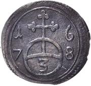 1 Dreier - Heinrich I. – revers