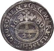1 Groschen - Heinrich I. – revers