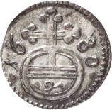 1 Pfennig - Heinrich I. – revers