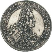 1 Thaler - Heinrich VI. (Burial) – avers
