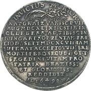 1 Thaler - Heinrich VI. (Burial) – revers