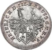1 Groschen - Heinrich IX. – avers