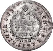 1 Groschen - Heinrich IX. – revers