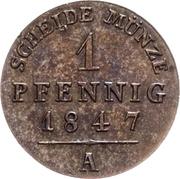 1 Pfennig - Heinrich LXII – revers