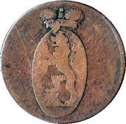 3 pfennig Heinrich XLII – avers