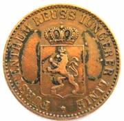 3 Pfennige -  Heinrich LXII – avers