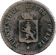 1 Silbergroschen - Heinrich LXII – avers