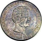 2 Thaler / 3½ Gulden - Heinrich LXII – avers