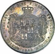 2 Thaler / 3½ Gulden - Heinrich LXII – revers