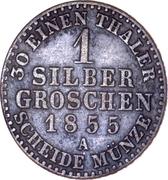 2 Silbergroschen - Heinrich LXII – revers