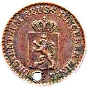1 Pfennig - Heinrich LXVII – avers