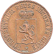 3 Pfennige - Heinrich XIV – avers