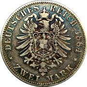 2 Mark - Heinrich XIV – revers