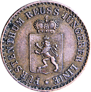 1 Pfennig - Heinrich XIV – avers