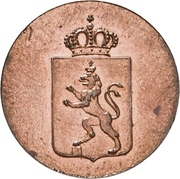 ½ Pfennig - Heinrich LXII – avers