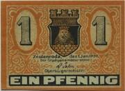 1 Pfennig (Zeulenroda) – avers