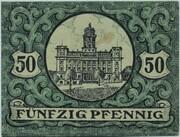 50 Pfennig (Zeulenroda) – revers