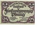 25 Pfennig (Triebes) – avers