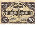 50 Pfennig (Triebes) – avers