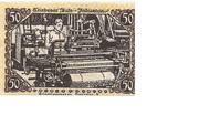 50 Pfennig (Triebes) – revers