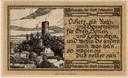 50 Pfennig Lobenstein – revers