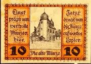 10 Pfennig Schleiz – revers